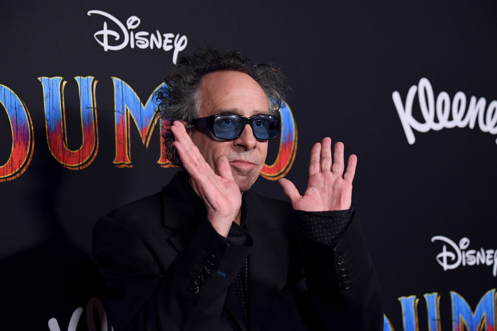 Tim Burton Disney Dumbo Los Angeles Premiere