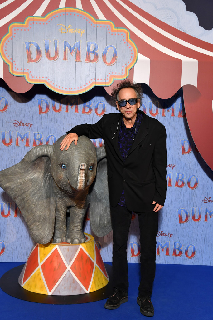 Tim Burton Disney Dumbo Paris Screening France