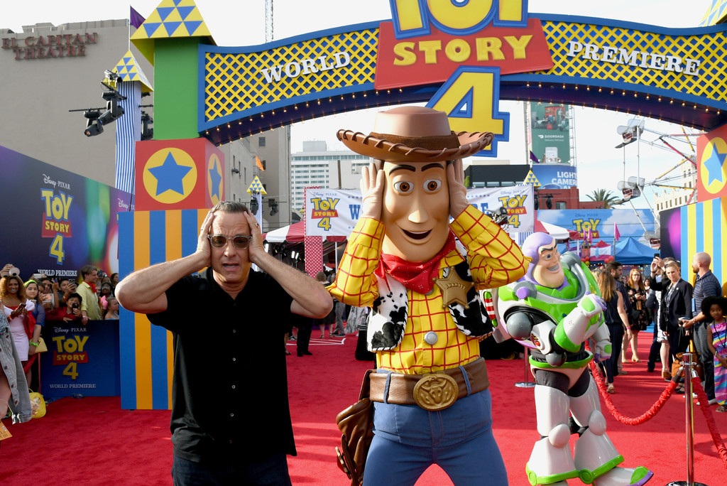 Tom Hanks Toy Story 4 Los Angeles Premiere Hollywood 2