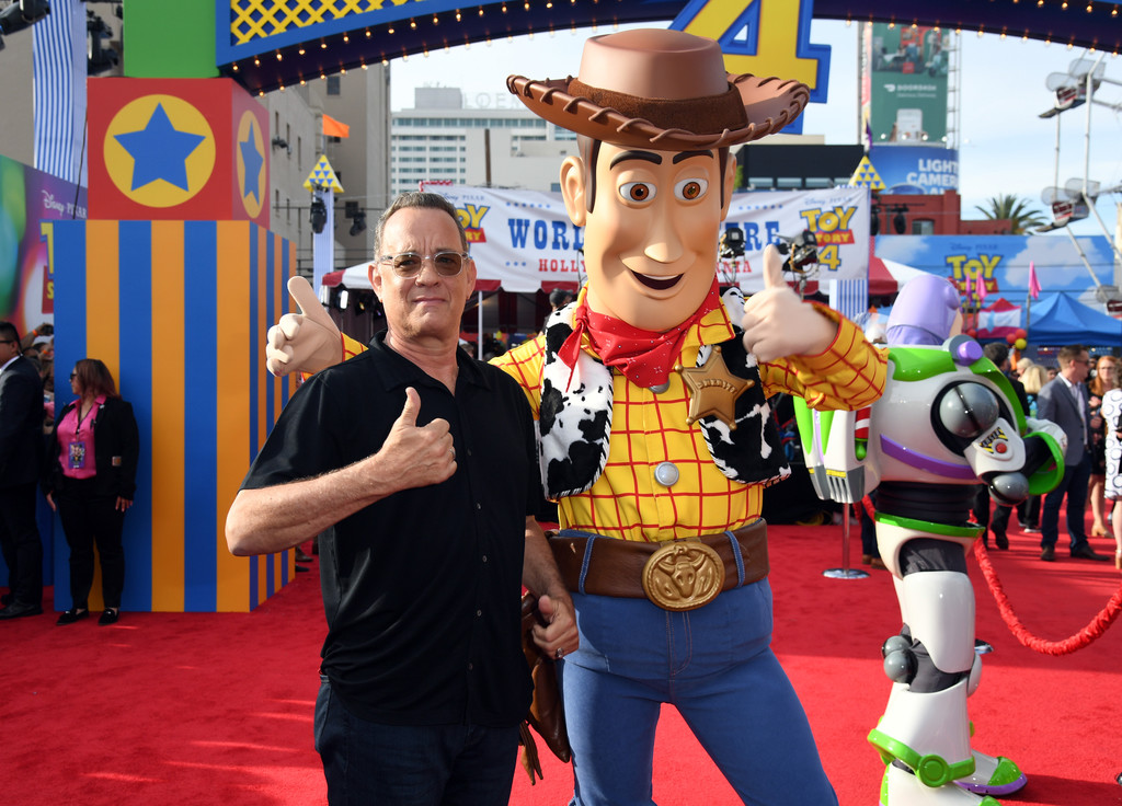 Tom Hanks Toy Story 4 Los Angeles Premiere Hollywood