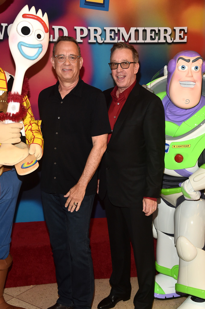 Tom Hanks and Tim Allen Toy Story 4 Los Angeles Premiere Hollywood