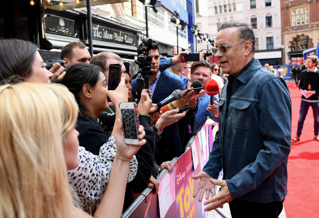 Tom Hanks Toy Story 4 London Premiere