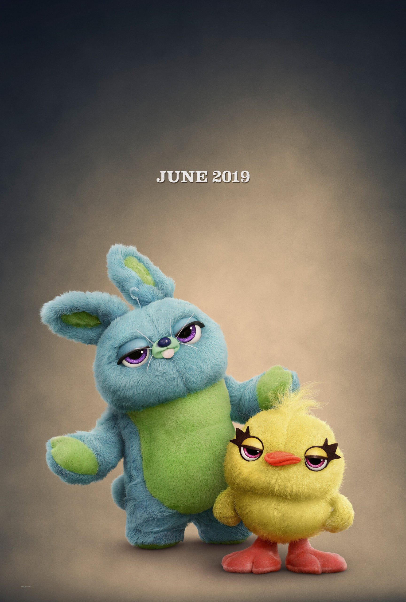 Toy Story 4 Character Posters Bunny and Duck