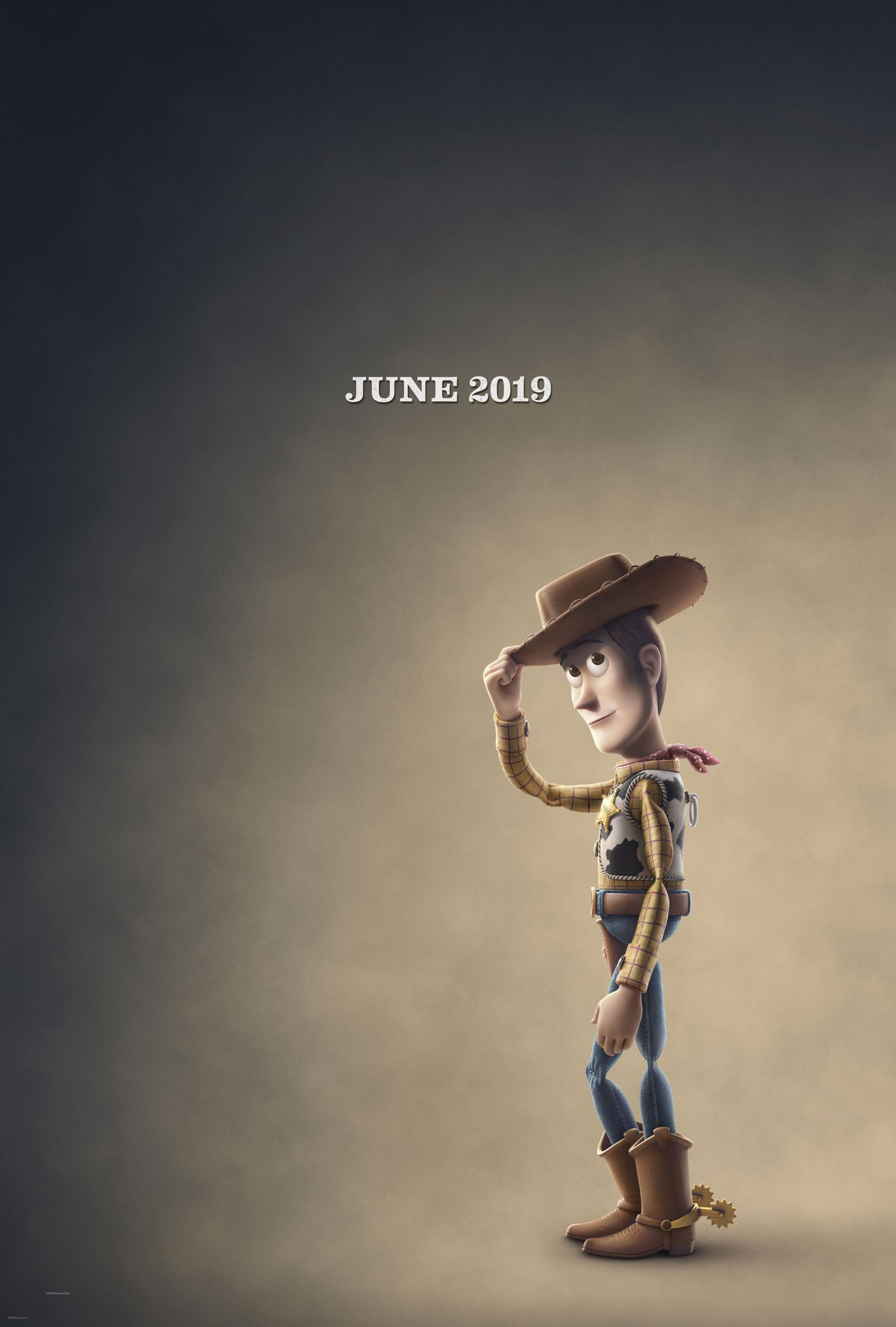 Toy Story 4 Character Posters Tom Hanks is Woody
