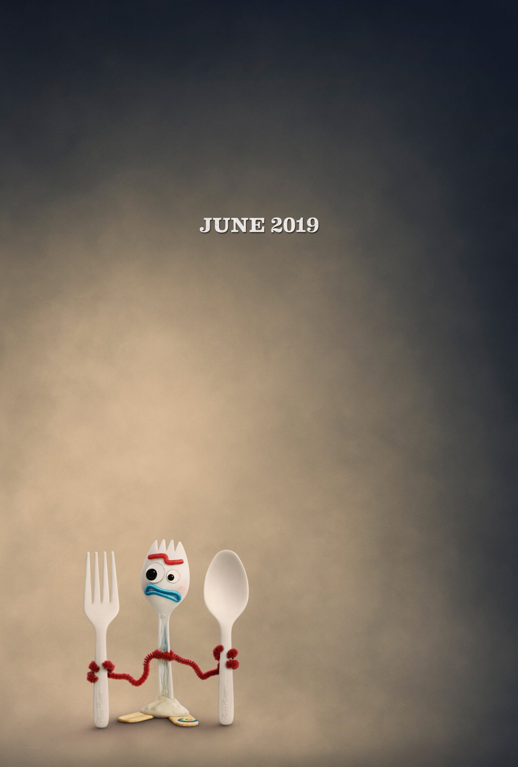 Toy Story 4 Character Posters Tony Hale is Forky