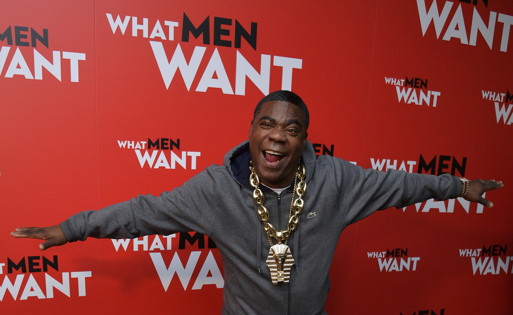 Tracy Morgan What Men Want New York City Special Screening Arrivals