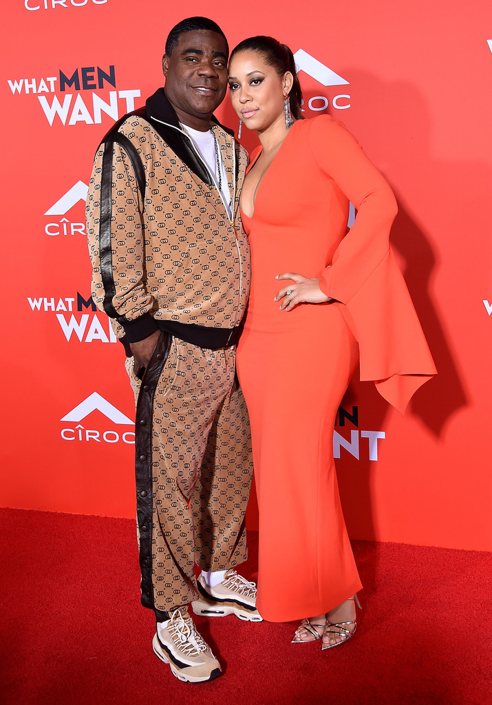 Tracy Morgan and Megan Wollover What Men Want Los Angeles Premiere Arrivals