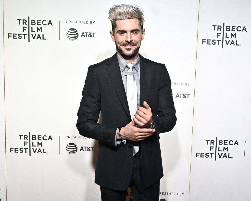 Zac Efron Extremely Wicked Shockingly Evil and Vile Tribeca Film Festival Premiere New York City
