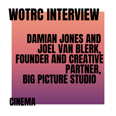 Interview with Damian Jones and Joel Van Blerk, Founder and Creative Partner of Big Picture Studio