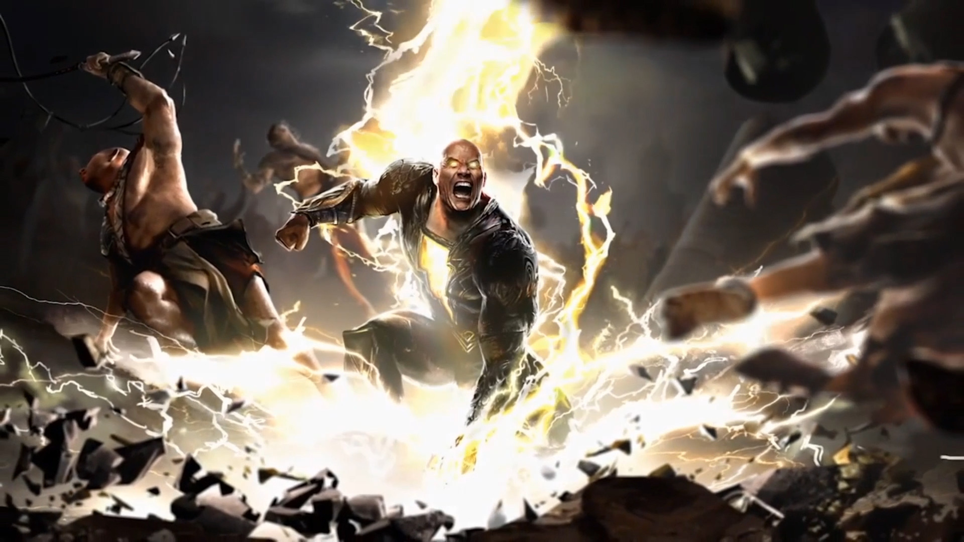 Black Adam Concept Art