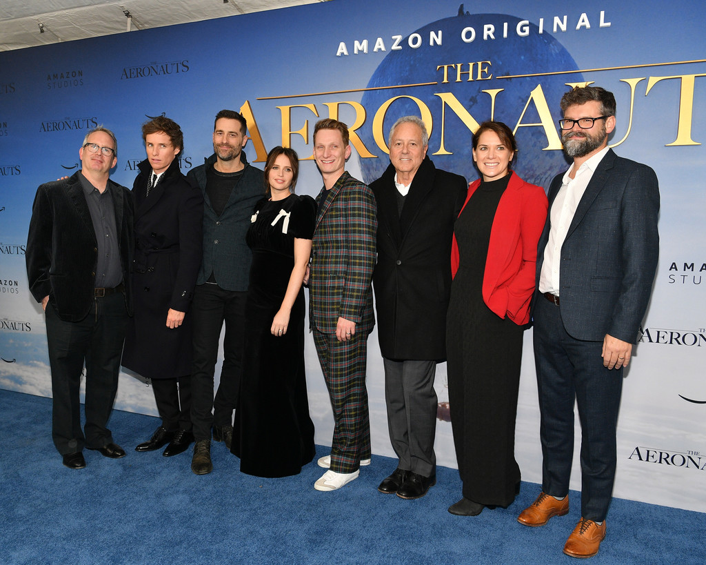 Cast and filmmakers The Aeronauts New York Premiere