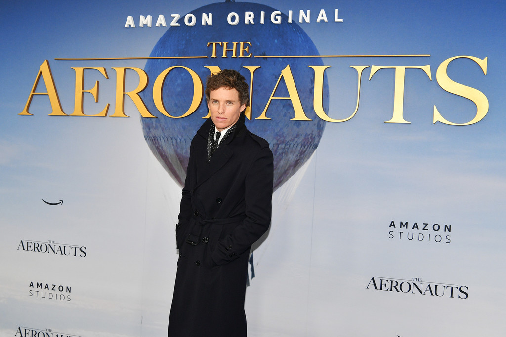 Eddie Redmayne The Aeronauts New York Premiere Arrivals
