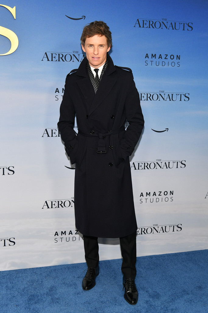 Eddie Redmayne The Aeronauts New York Premiere