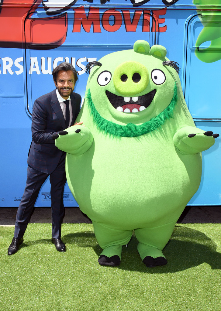 Eugenio Derbez The Angry Birds Movie 2 Los Angeles Premiere