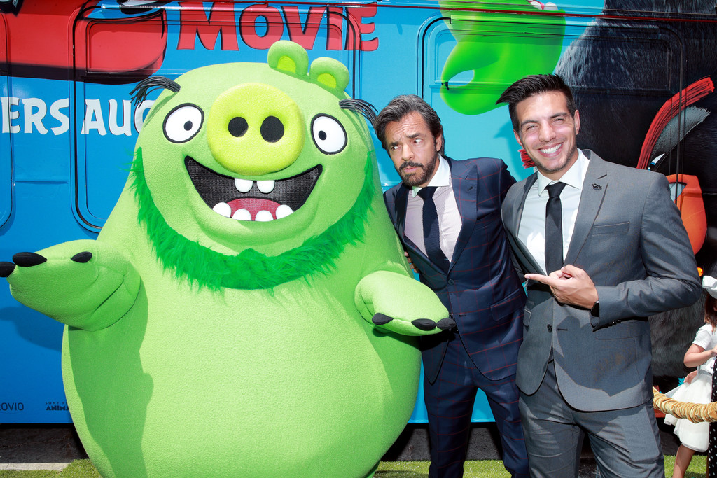 Eugenio and Vadhir Derbez The Angry Birds Movie 2 Los Angeles Premiere