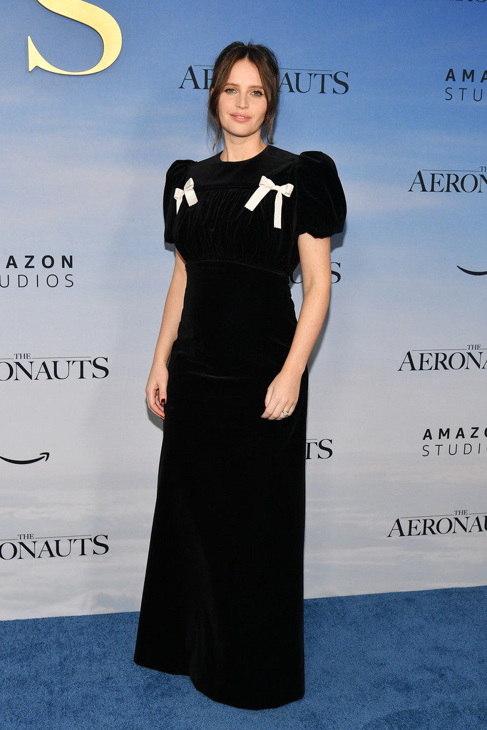 Felicity Jones The Aeronauts New York Premiere