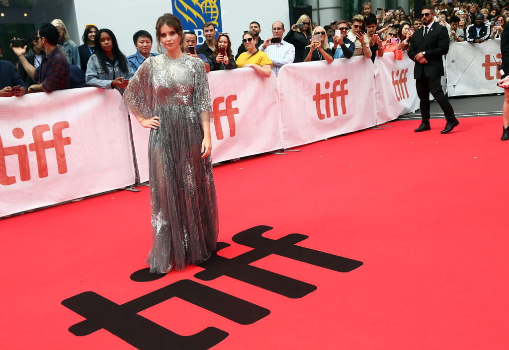 Felicity Jones The Aeronauts Toronto International Film Festival Premiere TIFF