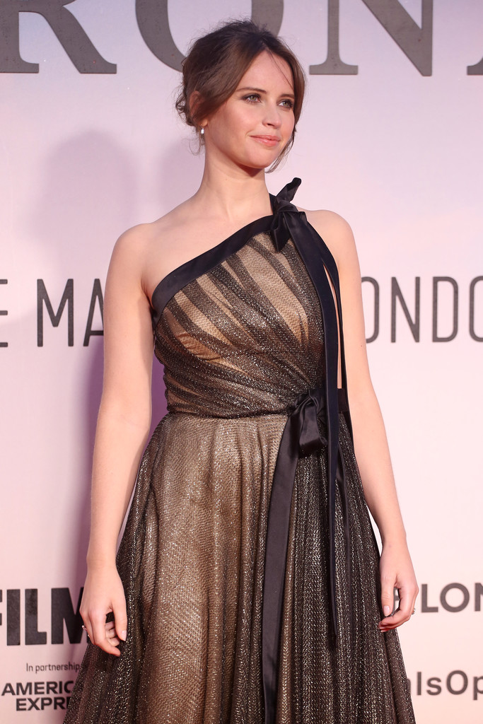 Felicity Jones The Aeronauts UK Premiere 63rd BFI London Film Festival Premiere 2