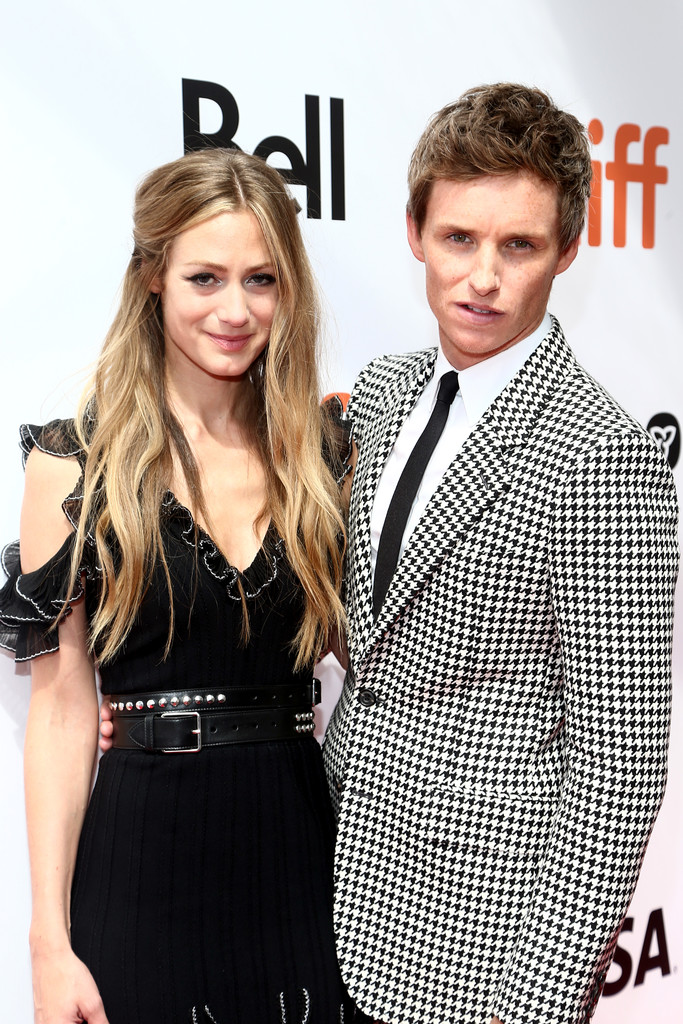 Hannah Bagshawe and Eddie Redmayne The Aeronauts Toronto International Film Festival Premiere TIFF