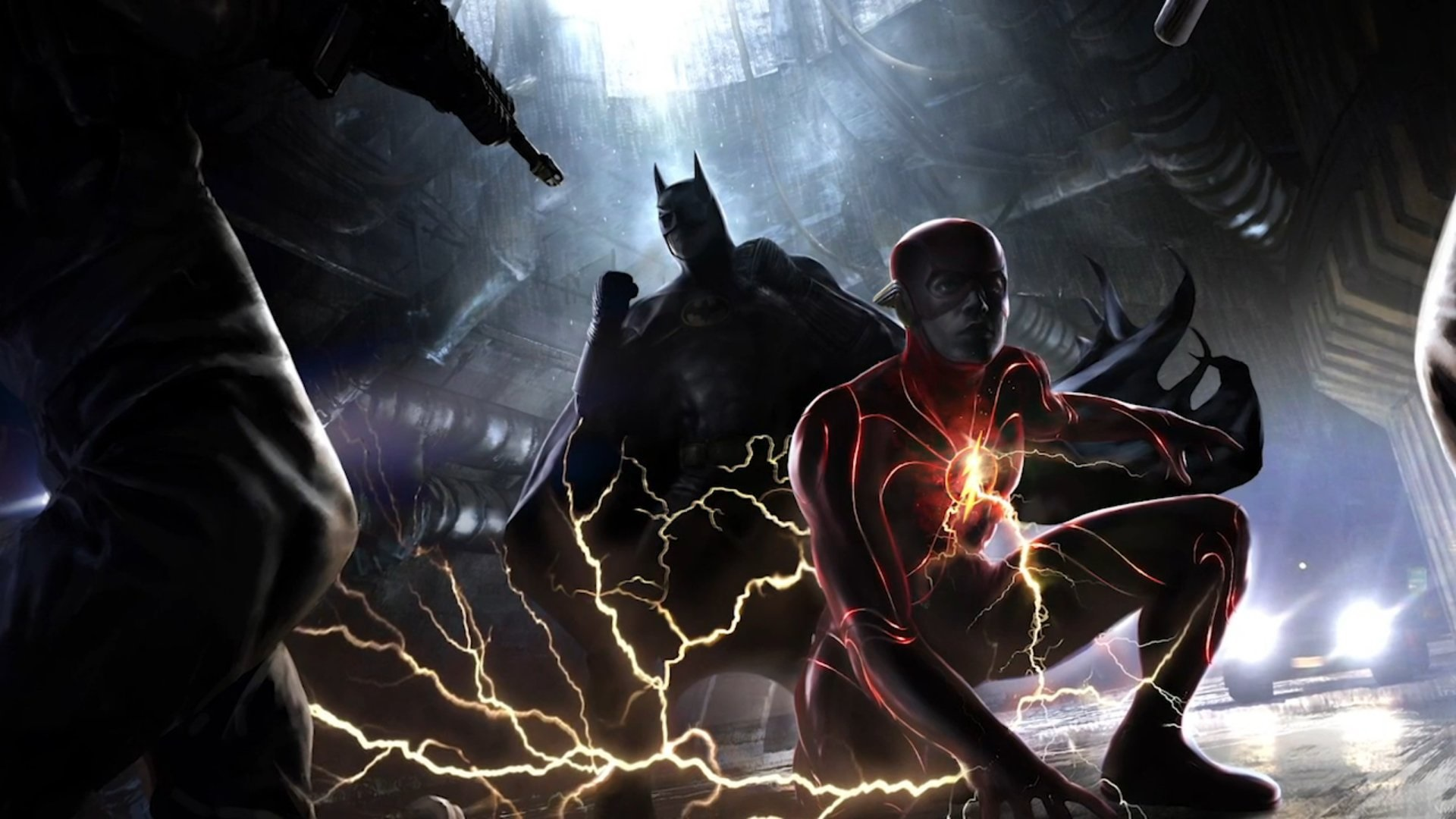 The Flash New Costume Ezra Miller made by Batman