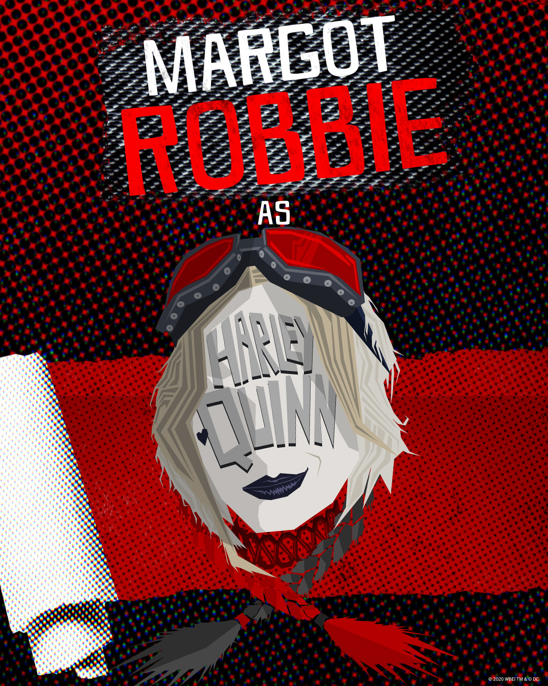 The Suicide Squad Character Teaser Posters Margot Robbie is Harley Quinn