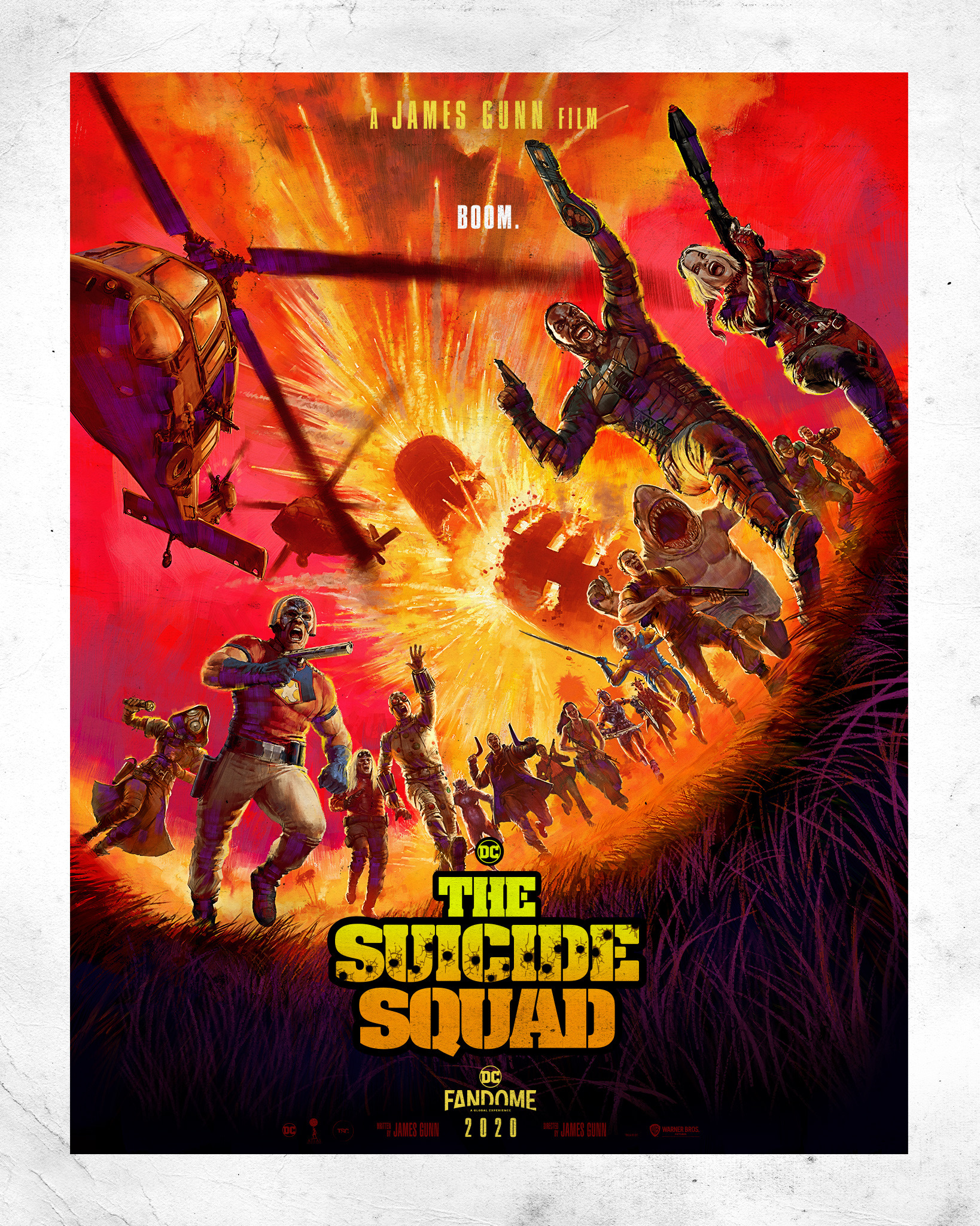The Suicide Squad Official Movie Poster