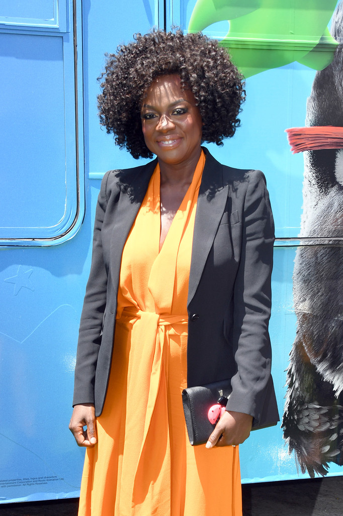 Viola Davis The Angry Birds Movie 2 Los Angeles Premiere