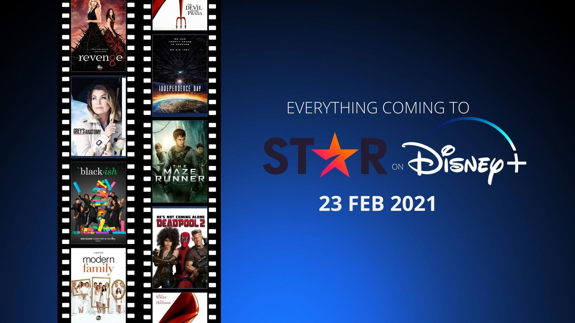 TV Shows and Films coming ot Star on Disney Plus UK February 2021