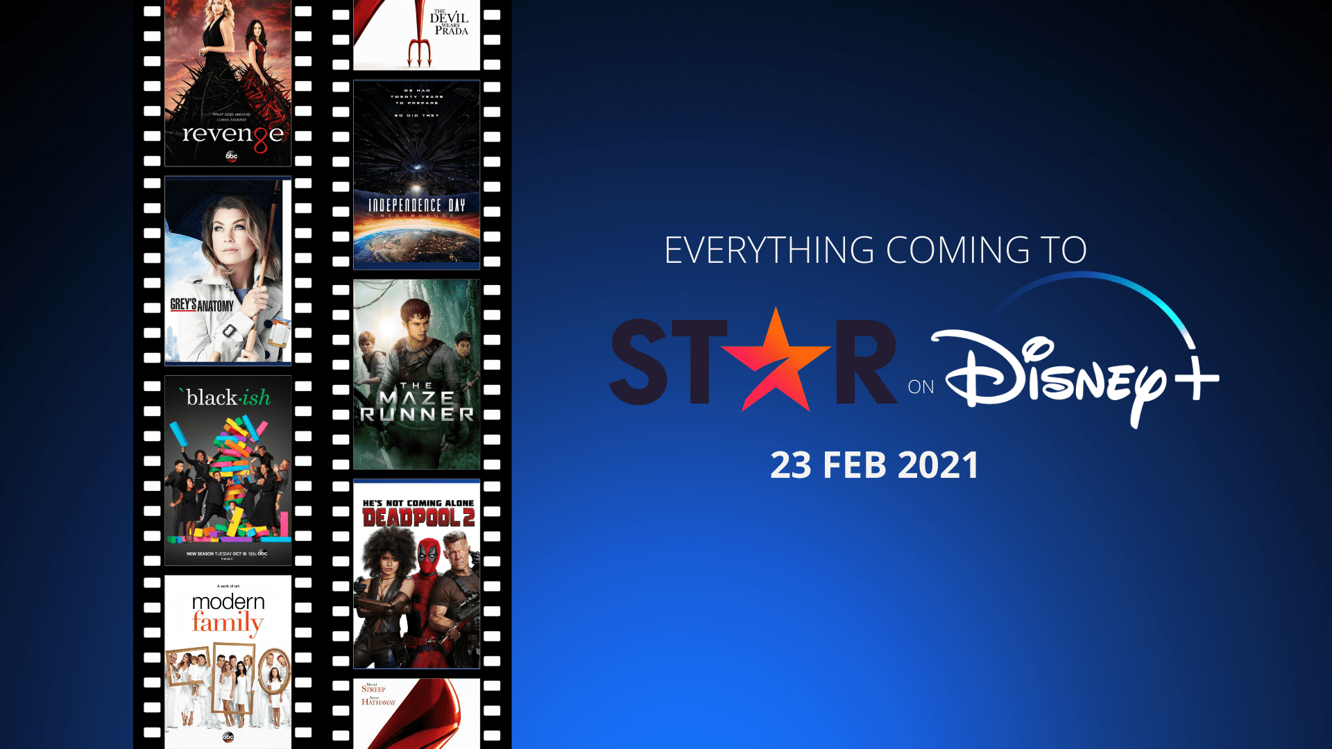 Full List of TV Shows and Films coming ot Star on Disney Plus February 2021