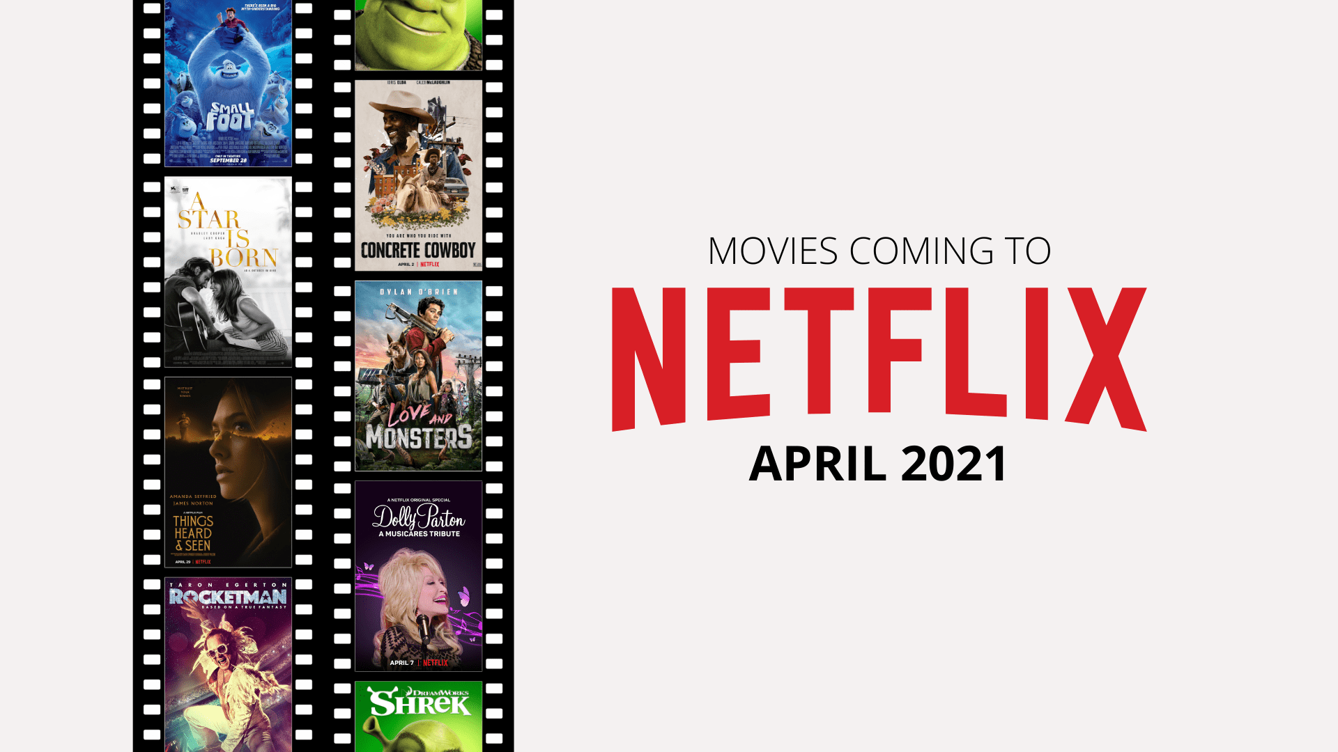 New films on Netflix April 2021 in UK and US