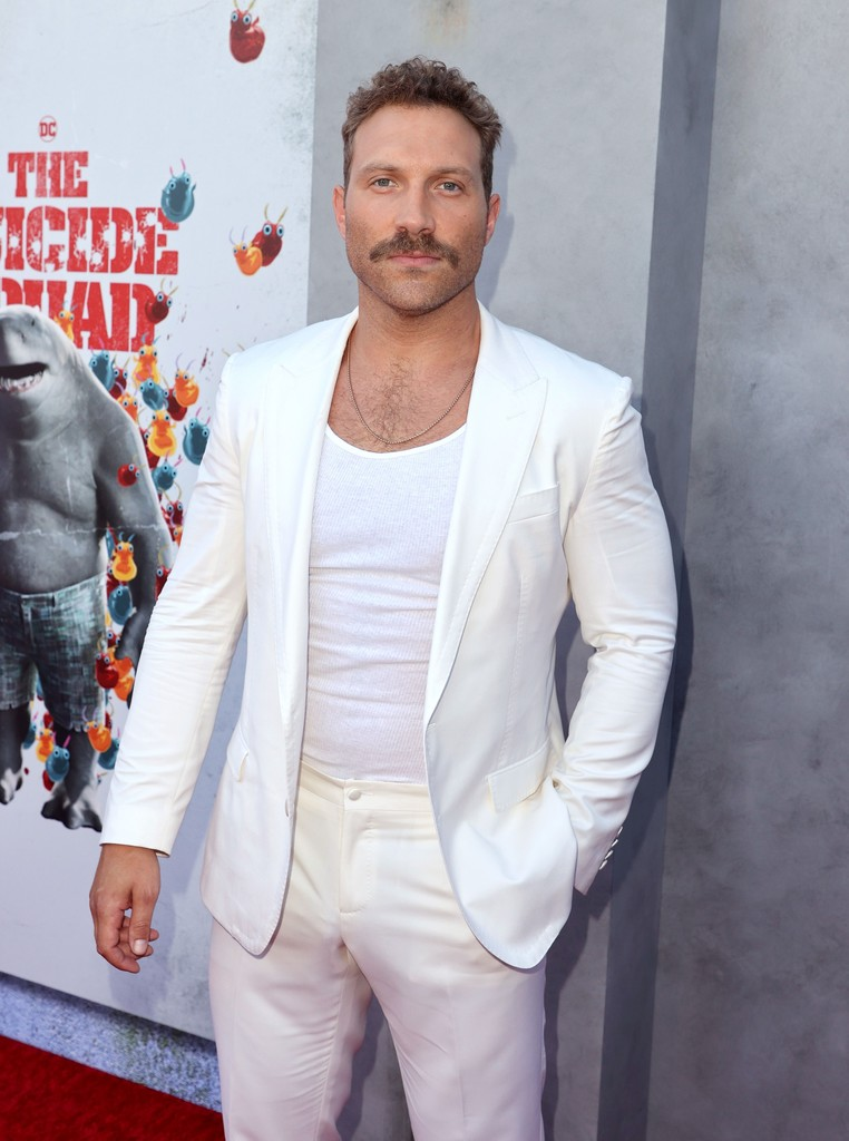 Jai Courtney attends the world premiere of 'The Suicide Squad' in Los Angeles on August 02, 2021