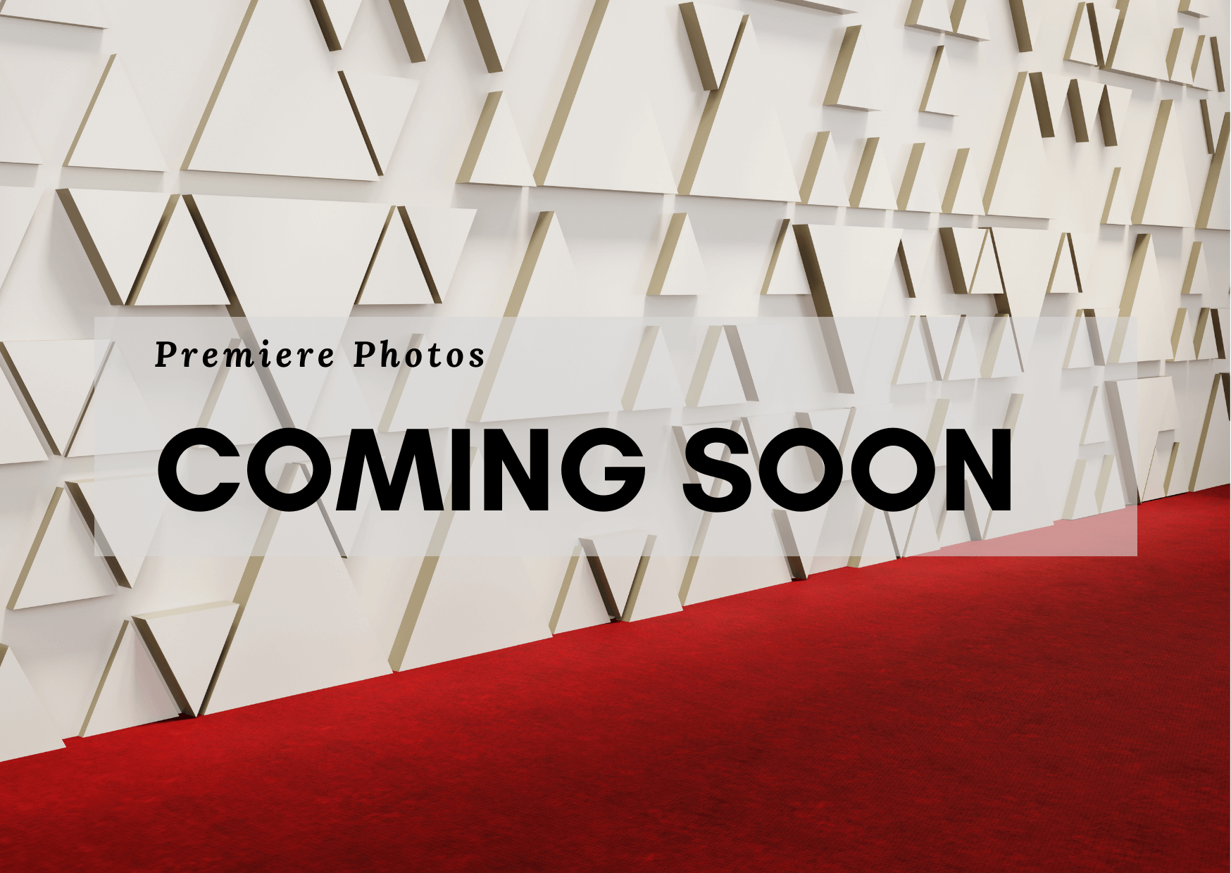 Premiere Photos Coming Soon