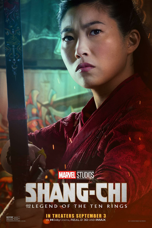 Shang-Chi and the Legend of the Ten Rings Character Posters
