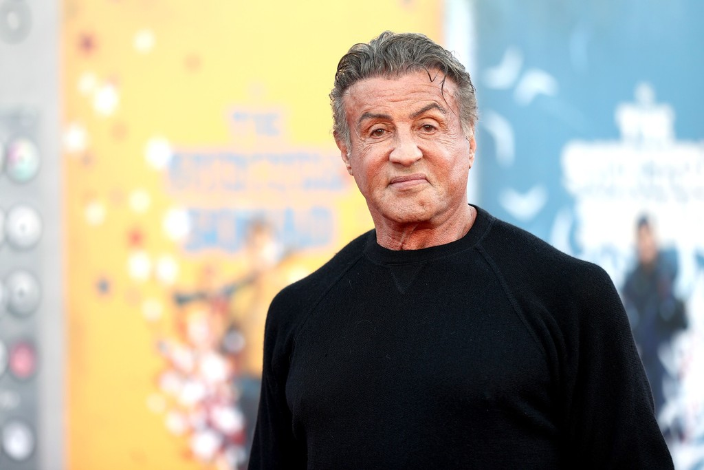 Sylvester Stallone the world premiere of 'The Suicide Squad' in Los Angeles on August 02, 2021