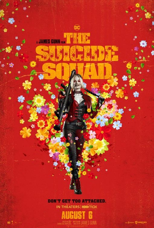 The Suicide Squad Character Posters